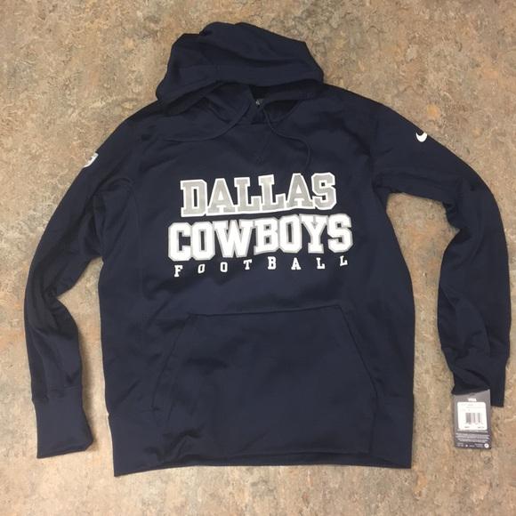 timeless design 43770 48033 Dallas Cowboys Nike Men's Hoodie Sweatshirt Medium